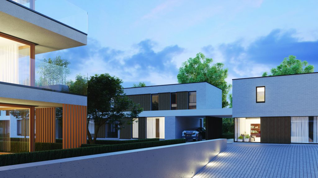 Architectuur 't Hof van Wingene